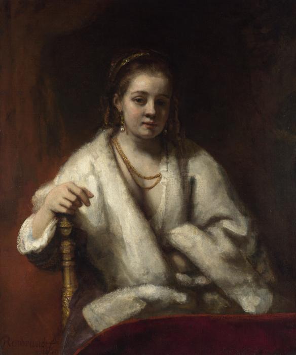 Хендрикье Стоффелс, Рембрандт. / Фото: wikimedia.org.
