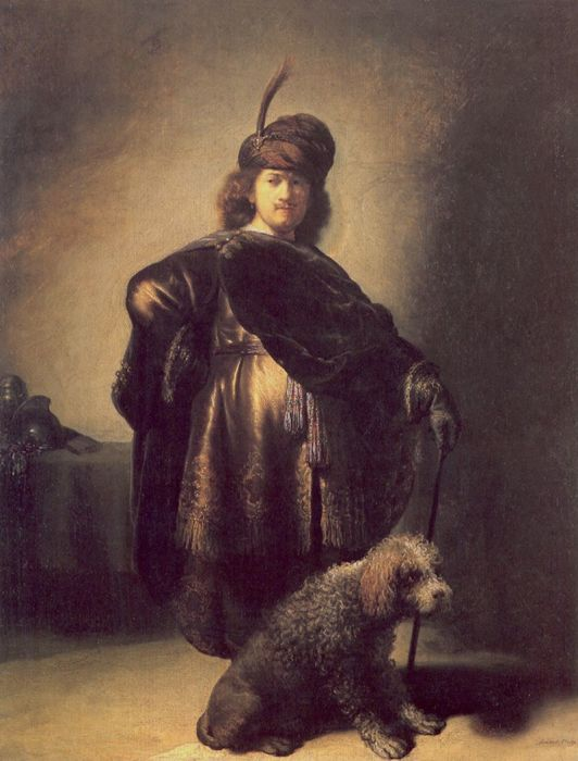 Автопортрет в восточном наряде, 1631 год. \ Фото: wikioo.org.
