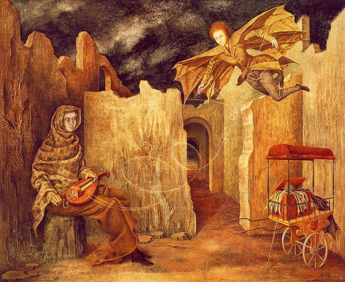 Волшебный полёт. \ Фото: en.most-famous-paintings.com.