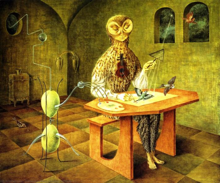 Создание птицы. \ Фото: ru.artsdot.com.