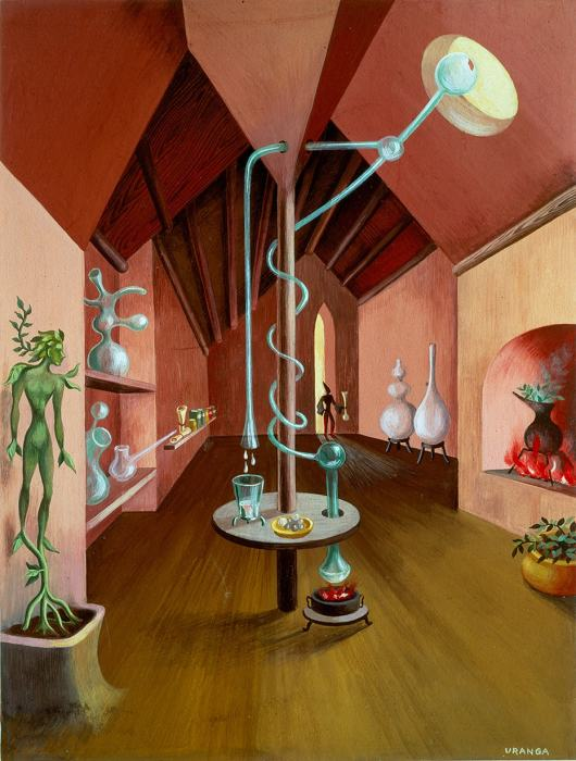 Лаборатория, 1948  год. \ Фото: dememoria.mx.