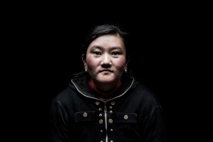 Портрет женщины. Автор: Remi Chapeaublanc.