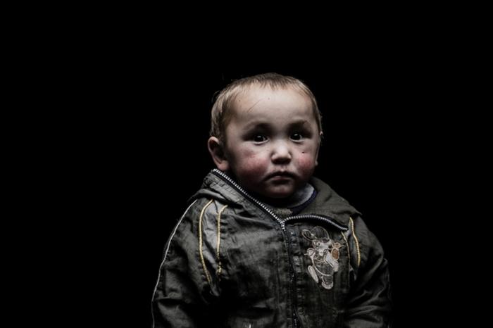 Портрет маленького мальчика. Автор: Remi Chapeaublanc.