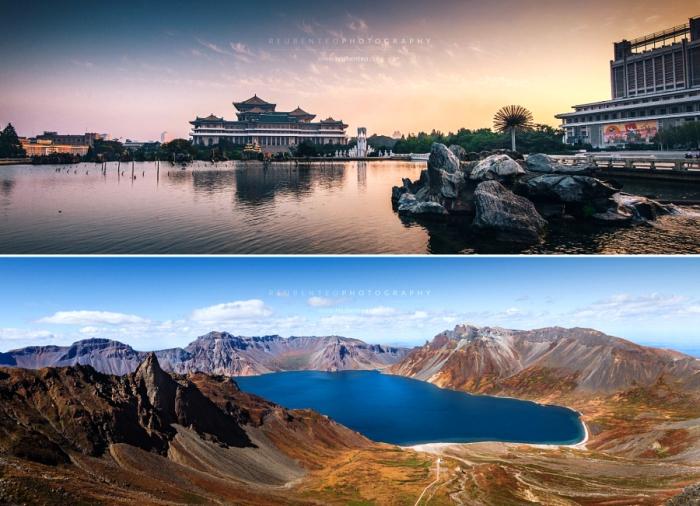 Великолепные панорамные снимки Северной Кореи. Автор фото: Reuben Teo.