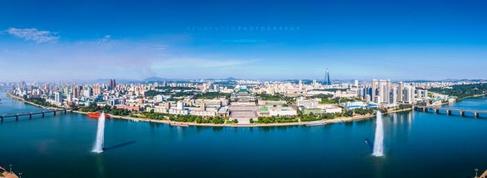 Город Пхеньян. Автор фото: Reuben Teo.