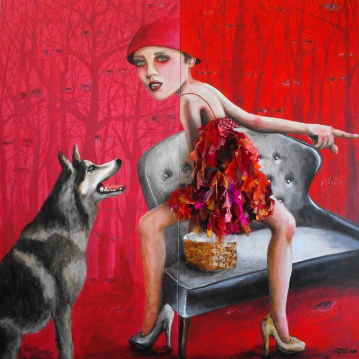 Красная шапочка. Автор: Ricardo Passos.