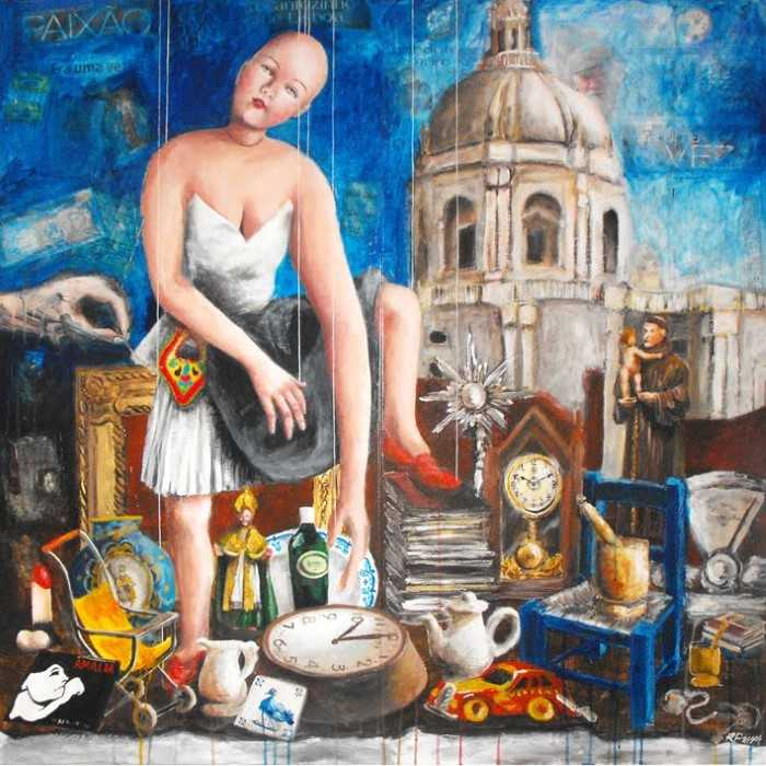 На рынок... Автор: Ricardo Passos.
