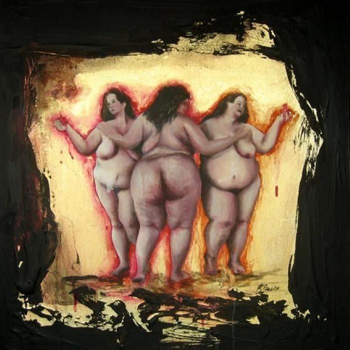 Пышнотелые девицы. Автор: Ricardo Passos.