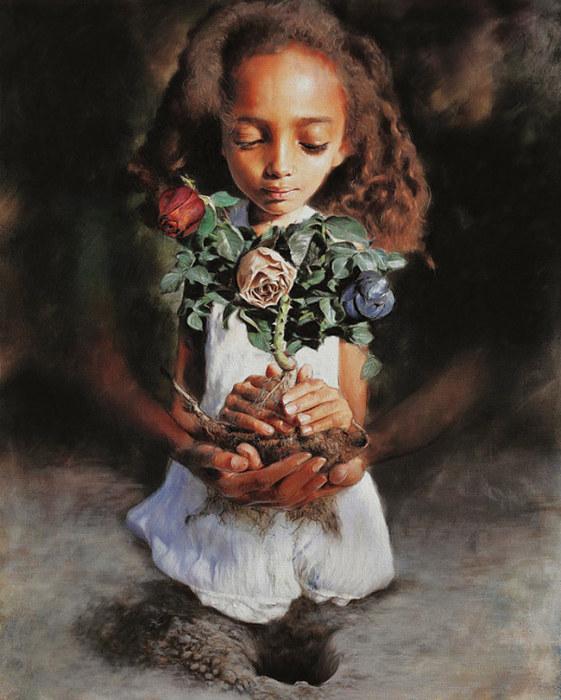 Свобода - это сильное семя, посаженное в большой нужде. Автор: Richard J Oliver.