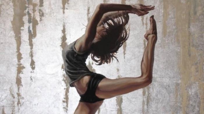 В танце. Автор: Richard P Gill.