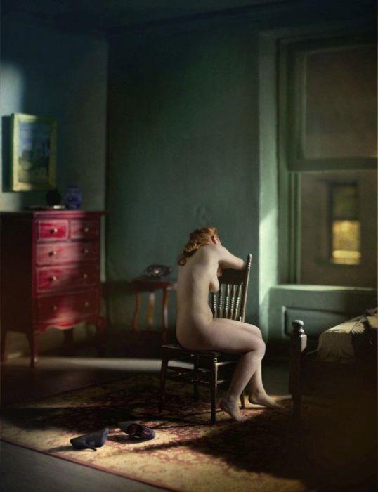 Зелёная комната (обнажённая натура). Автор: Richard Tuschman.