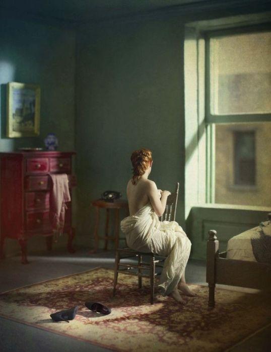 Зелёная комната (утро). Автор: Richard Tuschman.