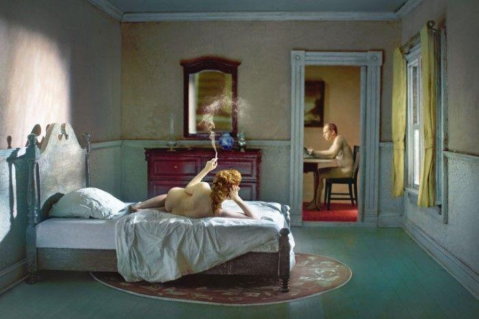 Розовая спальня (одалиска). Автор: Richard Tuschman.