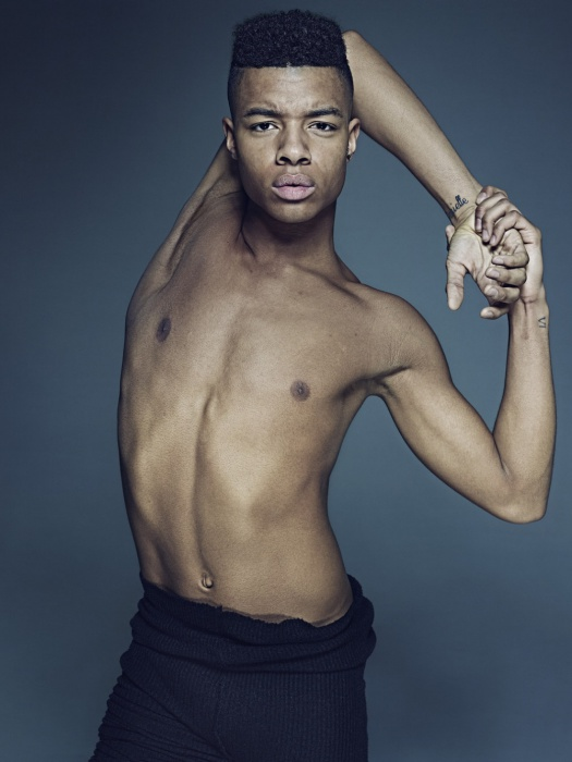Танцор Луи МакМиллер, 2014 год. Автор фото: Рик Гест (Rick Guest).