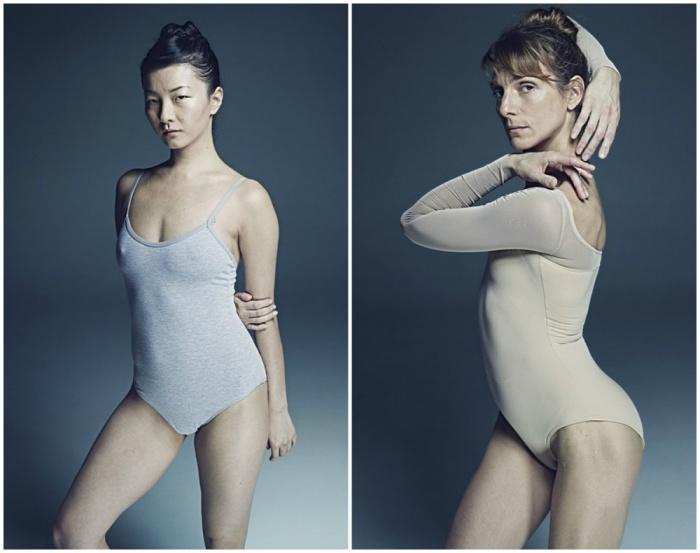 Балерина Чхве, 2013 год. Балерина Зинаида Яновски, 2013 год. Автор фото: Рик Гест (Rick Guest).
