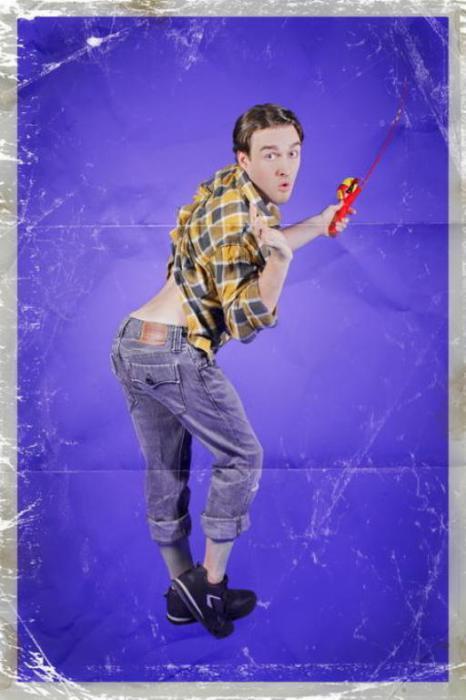 Сексуальный рыбак. Pin-Up по-мужски. Автор фото: Риона Сэбина (Rion Sabean).