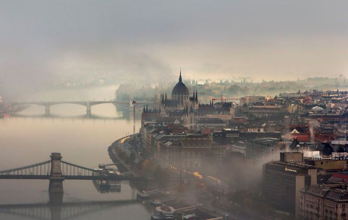 В плену тумана. Автор: Tamas Rizsavi.