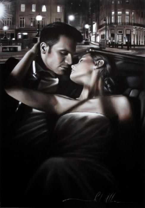 С любовью... Картины Роба Хэфферана (Rob Hefferan).