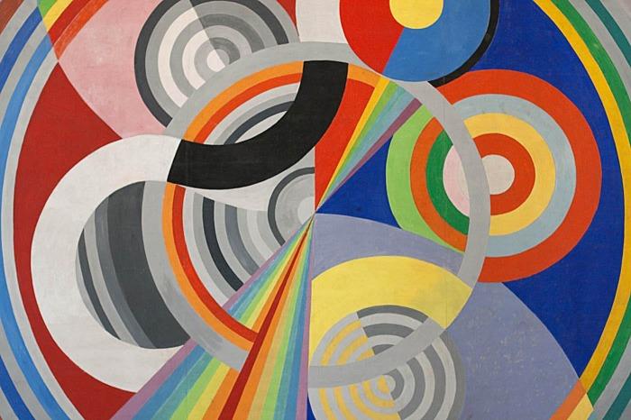 Ритм № 1, Роберт Делоне, 1938 год. \ Фото: apreslapub.fr.