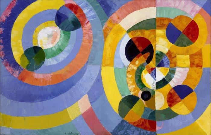 Круглые формы, Роберт Делоне. \ Фото: blogspot.com.
