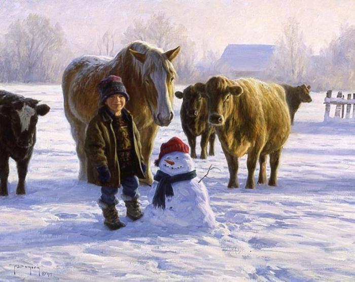 Снеговик. Автор: Robert Duncan.