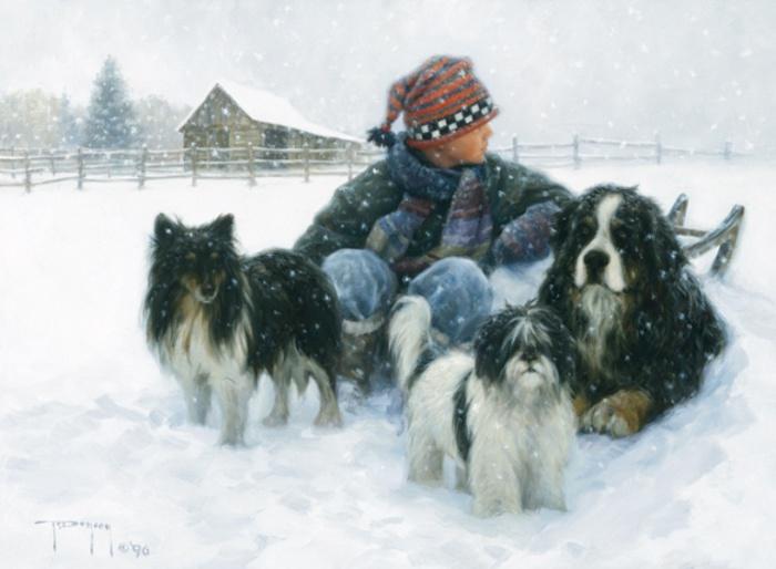 Зима - прекрасная пора. Автор: Robert Duncan.