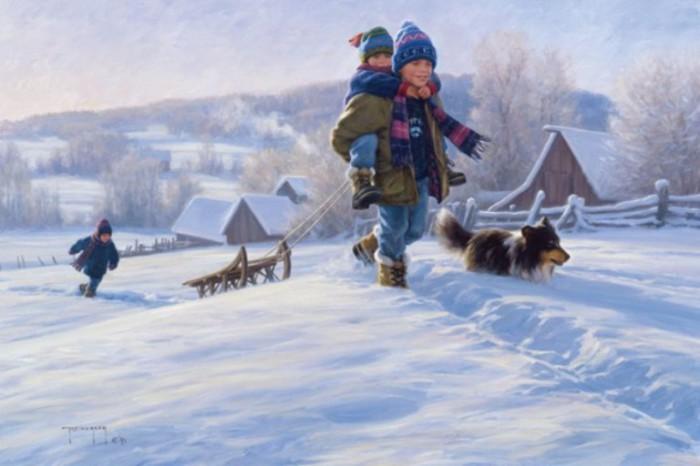 Беззаботное детство. Автор: Robert Duncan.