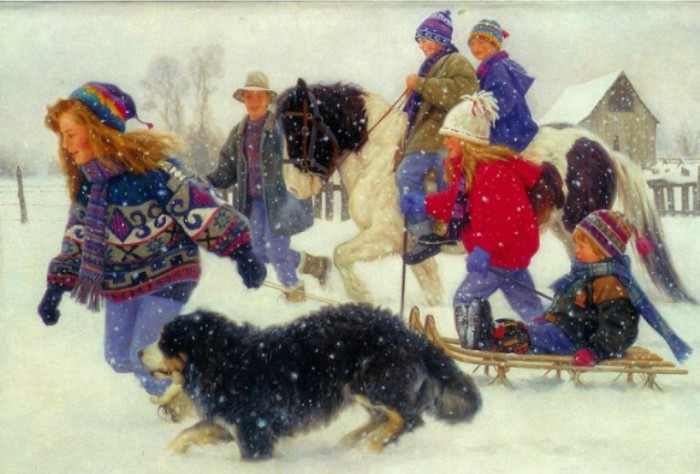 Снег, веселье, чудеса. Автор: Robert Duncan.