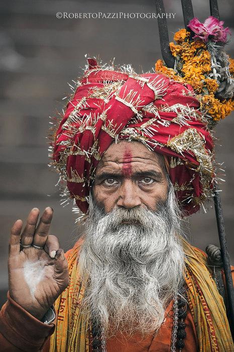 Выразительные портреты бедняков Индии. Автор фото: Roberto Pazzi.