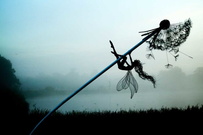 Весенне утро. Автор: Robin Wight.