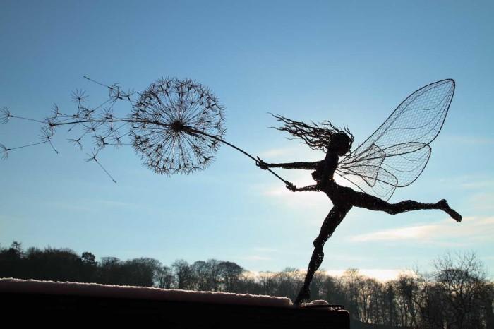 Дуновение ветра. Автор: Robin Wight.