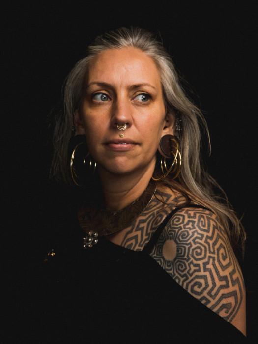 Анна Паула. Стиль - Quetzalli Jewelry. Автор фото: Роджер Кисби (Roger Kisby).