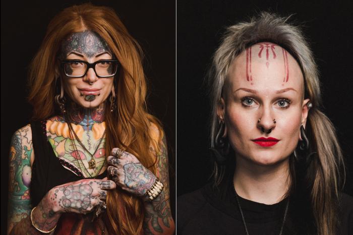 Девушки в погоне за самовыражением. Автор фото: Роджер Кисби (Roger Kisby).