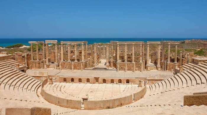 Лептис-Магна, Ливия. \ Фото: google.com.