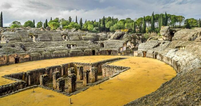 Италика, Испания. \ Фото: gameofthronestravel.com.