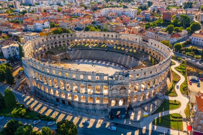 Амфитеатр в Пуле, Хорватия. \ Фото: travelhk.com.
