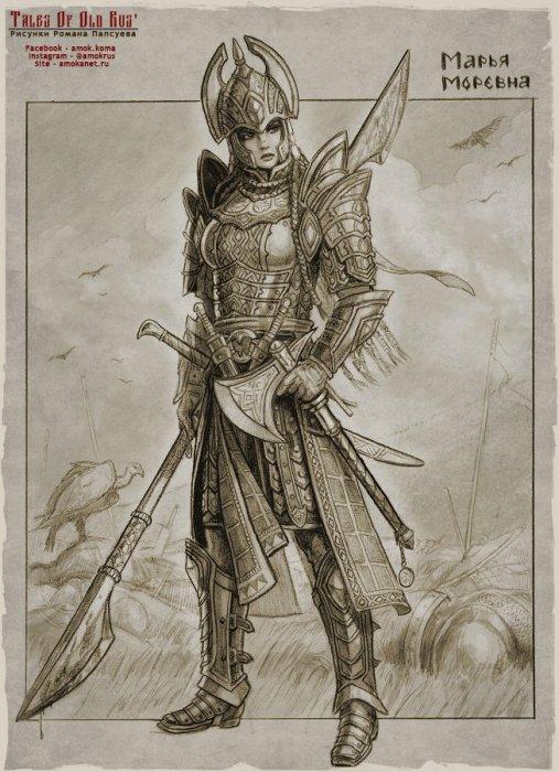 Марья Моревна. Автор: Роман Папсуев (Roman Papsuev).