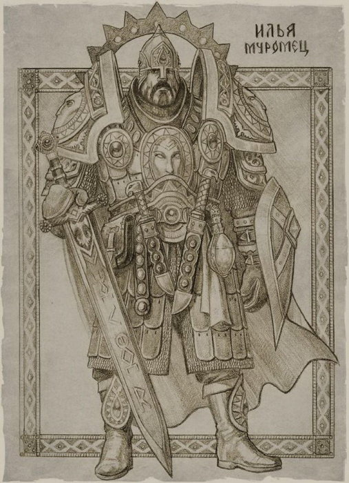 Илья Муромец. Автор: Роман Папсуев (Roman Papsuev).