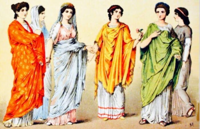 Повседневная жизнь римских женщин. \ Фото: infocamp.cat.