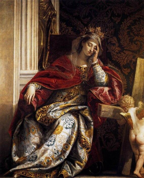 Видение Святой Елены (Императрица Флавия Юлия Елена Августа), Паоло Веронезе, 1580 год. \ Фото: fansshare.com.