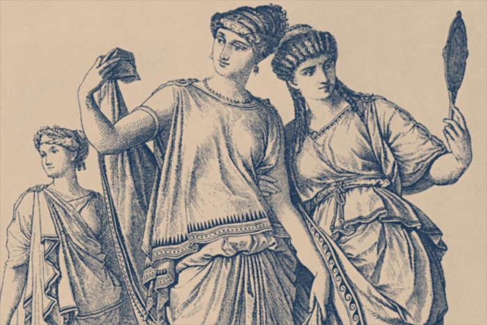 Три римские женщины. \ Фото: google.com.
