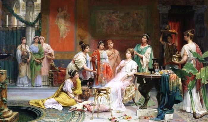 Tocador de una dama romana, Хуан Хименес Мартин. \ Фото: ru.m.wikipedia.org.