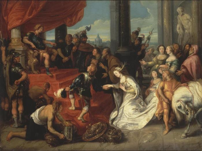 Великодушие Сципиона Африканского, Симон де Вос, 1641 год. \ Фото: blogspot.com.