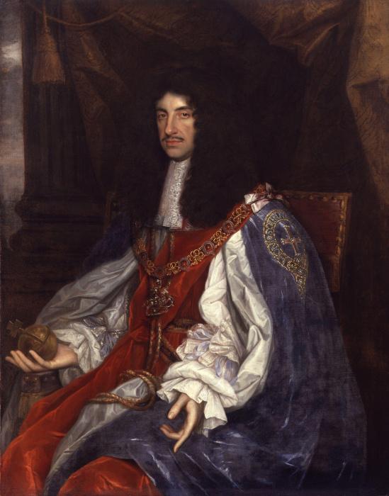 Английский король Карл II. \ Фото: en.wikipedia.org.