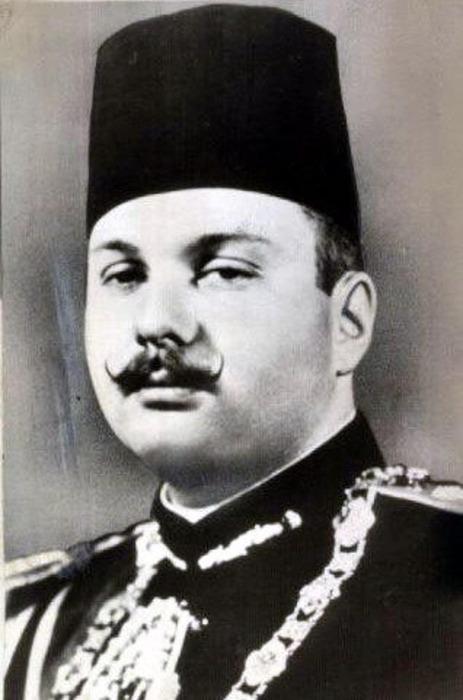 Его Величество Фарук I. \ Фото: haaretz.co.il.