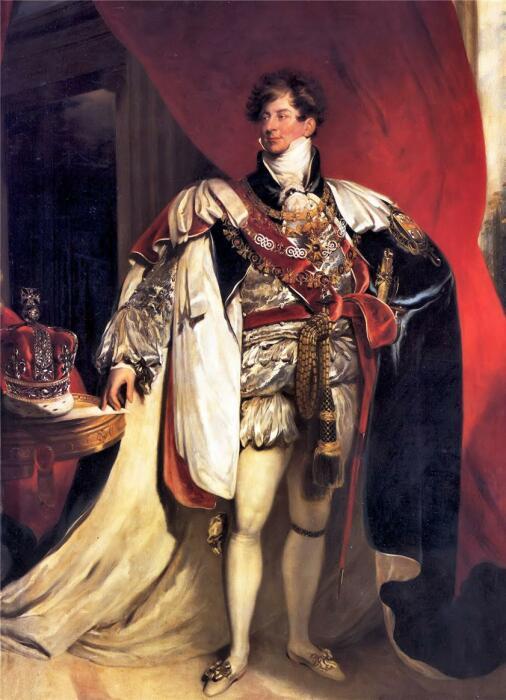 Георг IV. \ Фото: liveinternet.ru.