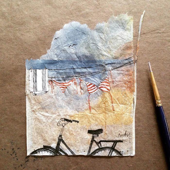 Летний день. Автор: Ruby Silvious.