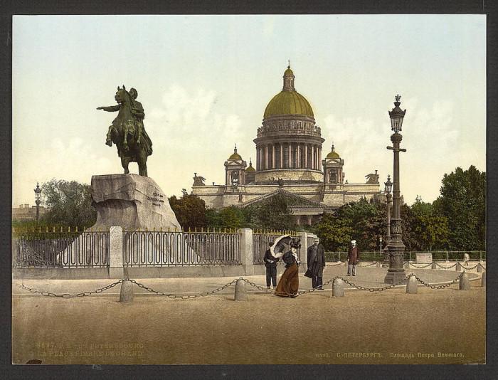 Памятнин Петру Великому, Санкт-Петербург.