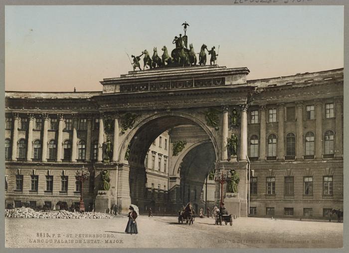 Арка Главного Штаба в Санкт-Петербурге.