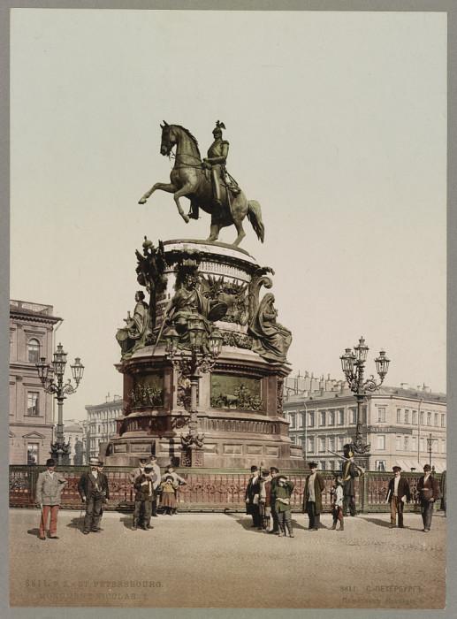 Санкт-Петербург, Памятник Николаю I.